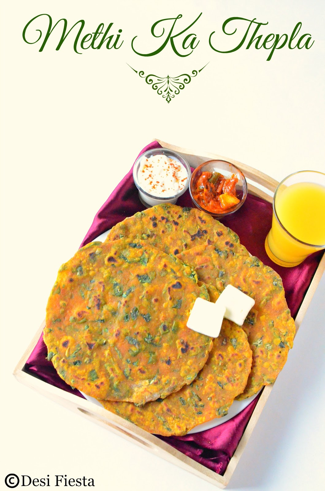 how to make gujrati thepla at home