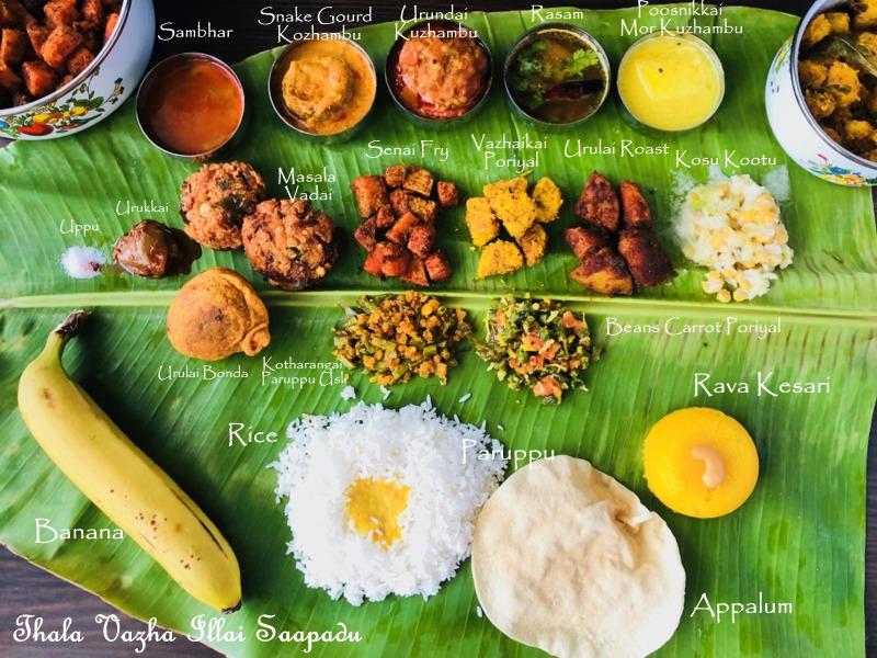 Thalai Vazhai Illai Virundhu Tamil Nadu Meals Recipes Desi Fiesta